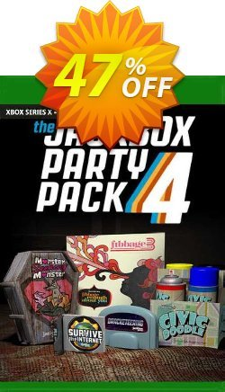 The Jackbox Party Pack 4 Xbox One - UK  Coupon discount The Jackbox Party Pack 4 Xbox One (UK) Deal 2021 CDkeys - The Jackbox Party Pack 4 Xbox One (UK) Exclusive Sale offer for iVoicesoft