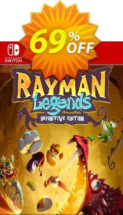 Rayman Legends Definitive Edition Switch - EU  Coupon discount Rayman Legends Definitive Edition Switch (EU) Deal 2021 CDkeys. Promotion: Rayman Legends Definitive Edition Switch (EU) Exclusive Sale offer for iVoicesoft