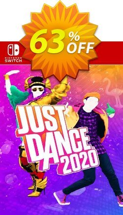 Just Dance 2020 Switch - EU  Coupon discount Just Dance 2020 Switch (EU) Deal 2021 CDkeys. Promotion: Just Dance 2020 Switch (EU) Exclusive Sale offer for iVoicesoft