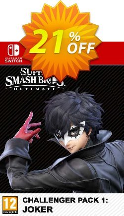 Super Smash Bros. Ultimate Joker Challenger Pack Switch - EU  Coupon discount Super Smash Bros. Ultimate Joker Challenger Pack Switch (EU) Deal 2021 CDkeys - Super Smash Bros. Ultimate Joker Challenger Pack Switch (EU) Exclusive Sale offer for iVoicesoft
