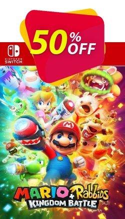 Mario and Rabbids Kingdom Battle Switch - EU  Coupon discount Mario and Rabbids Kingdom Battle Switch (EU) Deal 2021 CDkeys. Promotion: Mario and Rabbids Kingdom Battle Switch (EU) Exclusive Sale offer for iVoicesoft