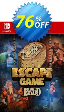 Escape Game Fort Boyard Switch - EU  Coupon discount Escape Game Fort Boyard Switch (EU) Deal 2021 CDkeys. Promotion: Escape Game Fort Boyard Switch (EU) Exclusive Sale offer for iVoicesoft