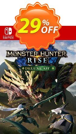 Monster Hunter Rise: Deluxe Kit Switch - EU  Coupon discount Monster Hunter Rise: Deluxe Kit Switch (EU) Deal 2021 CDkeys. Promotion: Monster Hunter Rise: Deluxe Kit Switch (EU) Exclusive Sale offer for iVoicesoft