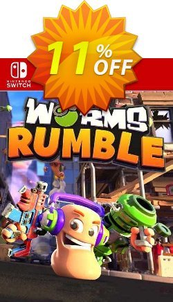 Worms Rumble Switch - EU  Coupon discount Worms Rumble Switch (EU) Deal 2021 CDkeys. Promotion: Worms Rumble Switch (EU) Exclusive Sale offer for iVoicesoft