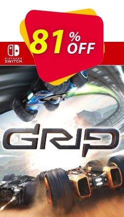 GRIP: Combat Racing Switch - EU  Coupon discount GRIP: Combat Racing Switch (EU) Deal 2021 CDkeys