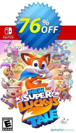 New Super Lucky's Tale Switch - EU  Coupon discount New Super Lucky's Tale Switch (EU) Deal 2021 CDkeys. Promotion: New Super Lucky's Tale Switch (EU) Exclusive Sale offer for iVoicesoft