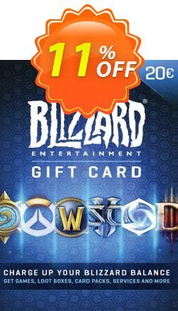 Battlenet 20 euro Gift Card Coupon discount Battlenet 20 euro Gift Card Deal 2021 CDkeys. Promotion: Battlenet 20 euro Gift Card Exclusive Sale offer for iVoicesoft