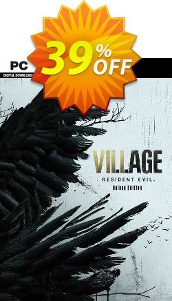 Resident Evil Village - Deluxe Edition + DLC PC - WW  Coupon discount Resident Evil Village - Deluxe Edition + DLC PC (WW) Deal 2021 CDkeys. Promotion: Resident Evil Village - Deluxe Edition + DLC PC (WW) Exclusive Sale offer for iVoicesoft