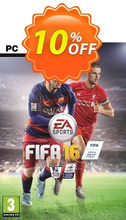 FIFA 16 PC + 15 FUT GOLD PACKS Coupon discount FIFA 16 PC + 15 FUT GOLD PACKS Deal - FIFA 16 PC + 15 FUT GOLD PACKS Exclusive offer for iVoicesoft