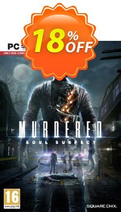 Murdered: Soul Suspect PC Coupon discount Murdered: Soul Suspect PC Deal. Promotion: Murdered: Soul Suspect PC Exclusive offer for iVoicesoft