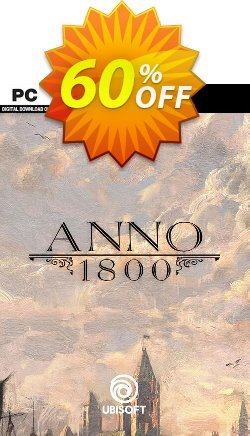 Anno 1800 PC Coupon discount Anno 1800 PC Deal - Anno 1800 PC Exclusive offer for iVoicesoft