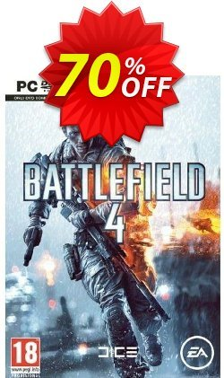 Battlefield 4 - PC  Coupon, discount Battlefield 4 (PC) Deal. Promotion: Battlefield 4 (PC) Exclusive offer for iVoicesoft