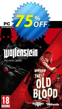 Wolfenstein The New Order and The Old Blood Double Pack PC Coupon discount Wolfenstein The New Order and The Old Blood Double Pack PC Deal - Wolfenstein The New Order and The Old Blood Double Pack PC Exclusive offer for iVoicesoft