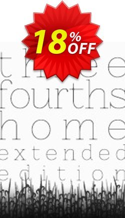 Three Fourths Home Extended Edition PC Coupon discount Three Fourths Home Extended Edition PC Deal. Promotion: Three Fourths Home Extended Edition PC Exclusive offer for iVoicesoft