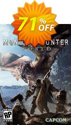 Monster Hunter World PC Coupon, discount Monster Hunter World PC Deal. Promotion: Monster Hunter World PC Exclusive offer for iVoicesoft