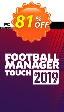 Football Manager Touch 2019 PC Coupon discount Football Manager Touch 2021 PC Deal - Football Manager Touch 2021 PC Exclusive offer for iVoicesoft