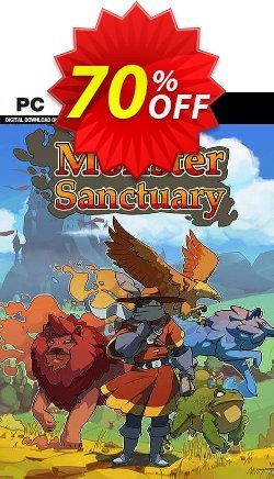 Monster Sanctuary PC Coupon discount Monster Sanctuary PC Deal. Promotion: Monster Sanctuary PC Exclusive offer for iVoicesoft