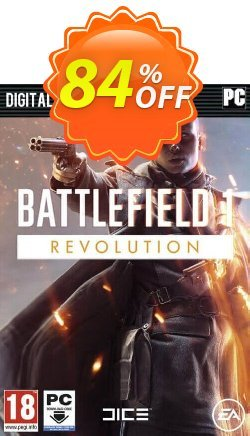 Battlefield 1: Revolution Edition PC Coupon, discount Battlefield 1: Revolution Edition PC Deal. Promotion: Battlefield 1: Revolution Edition PC Exclusive offer for iVoicesoft