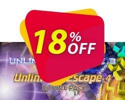 Unlimited Escape 3 & 4 Double Pack PC Coupon discount Unlimited Escape 3 & 4 Double Pack PC Deal - Unlimited Escape 3 & 4 Double Pack PC Exclusive offer for iVoicesoft