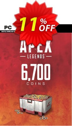 Apex Legends 6700 Coins VC PC Coupon discount Apex Legends 6700 Coins VC PC Deal - Apex Legends 6700 Coins VC PC Exclusive offer for iVoicesoft