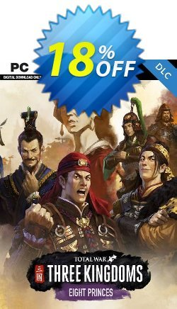 Total War: THREE KINGDOMS PC Eight Princes DLC - US  Coupon discount Total War: THREE KINGDOMS PC Eight Princes DLC (US) Deal - Total War: THREE KINGDOMS PC Eight Princes DLC (US) Exclusive offer for iVoicesoft