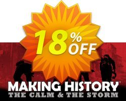 Making History The Calm & the Storm PC Coupon discount Making History The Calm & the Storm PC Deal. Promotion: Making History The Calm & the Storm PC Exclusive offer for iVoicesoft