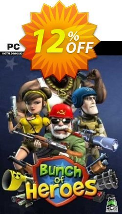 Bunch of Heroes PC Coupon, discount Bunch of Heroes PC Deal. Promotion: Bunch of Heroes PC Exclusive offer for iVoicesoft