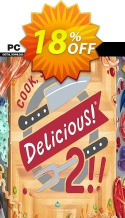 Cook Serve Delicious! 2!! PC Coupon discount Cook Serve Delicious! 2!! PC Deal. Promotion: Cook Serve Delicious! 2!! PC Exclusive offer for iVoicesoft