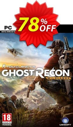 Tom Clancy's Ghost Recon Wildlands PC Coupon, discount Tom Clancy's Ghost Recon Wildlands PC Deal. Promotion: Tom Clancy's Ghost Recon Wildlands PC Exclusive offer for iVoicesoft