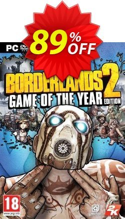 Borderlands 2 Game of the Year Edition PC - EU  Coupon, discount Borderlands 2 Game of the Year Edition PC (EU) Deal. Promotion: Borderlands 2 Game of the Year Edition PC (EU) Exclusive offer for iVoicesoft