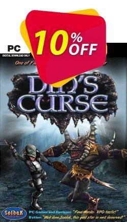 Din's Curse PC Coupon discount Din's Curse PC Deal. Promotion: Din's Curse PC Exclusive offer for iVoicesoft