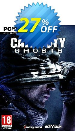 Call of Duty - COD : Ghosts PC Coupon discount Call of Duty (COD): Ghosts PC Deal - Call of Duty (COD): Ghosts PC Exclusive offer for iVoicesoft