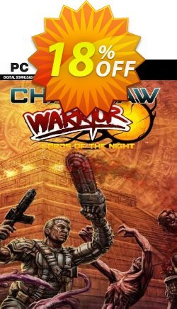Chainsaw Warrior Lords of the Night PC Coupon discount Chainsaw Warrior Lords of the Night PC Deal - Chainsaw Warrior Lords of the Night PC Exclusive offer for iVoicesoft