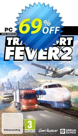 Transport Fever 2 PC Coupon discount Transport Fever 2 PC Deal. Promotion: Transport Fever 2 PC Exclusive offer for iVoicesoft