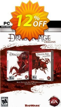 Dragon Age: Origins - Ultimate Edition PC Coupon discount Dragon Age: Origins - Ultimate Edition PC Deal. Promotion: Dragon Age: Origins - Ultimate Edition PC Exclusive offer for iVoicesoft