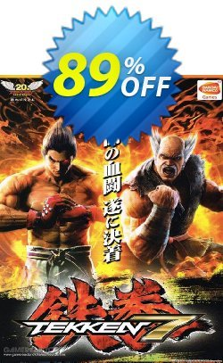 Tekken 7 PC Coupon, discount Tekken 7 PC Deal. Promotion: Tekken 7 PC Exclusive offer for iVoicesoft
