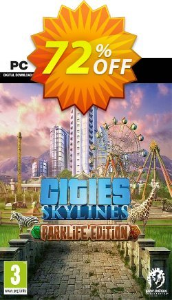Cities: Skylines - Parklife Edition PC Coupon discount Cities: Skylines - Parklife Edition PC Deal. Promotion: Cities: Skylines - Parklife Edition PC Exclusive offer for iVoicesoft