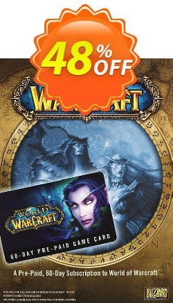 World of Warcraft 60 Day Pre-paid Game Card PC/Mac Coupon discount World of Warcraft 60 Day Pre-paid Game Card PC/Mac Deal - World of Warcraft 60 Day Pre-paid Game Card PC/Mac Exclusive offer for iVoicesoft