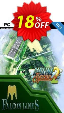 Airline Tycoon 2 Falcon Airlines DLC PC Coupon discount Airline Tycoon 2 Falcon Airlines DLC PC Deal. Promotion: Airline Tycoon 2 Falcon Airlines DLC PC Exclusive offer for iVoicesoft