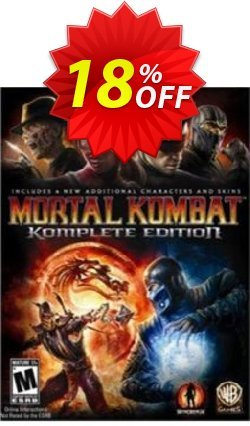Mortal Kombat Komplete Edition PC Coupon, discount Mortal Kombat Komplete Edition PC Deal. Promotion: Mortal Kombat Komplete Edition PC Exclusive offer for iVoicesoft