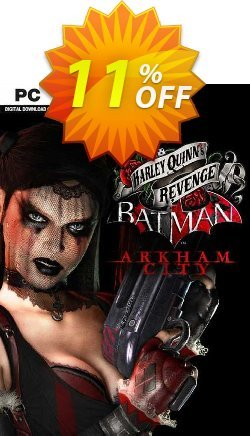 Batman Arkham City Harley Quinn's Revenge PC Coupon discount Batman Arkham City Harley Quinn's Revenge PC Deal - Batman Arkham City Harley Quinn's Revenge PC Exclusive offer for iVoicesoft