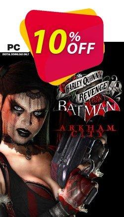 Batman Arkham City Harley Quinn's Revenge PC Coupon discount Batman Arkham City Harley Quinn's Revenge PC Deal - Batman Arkham City Harley Quinn's Revenge PC Exclusive offer for iVoicesoft