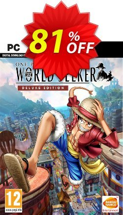 One Piece World Seeker Deluxe Edition PC Coupon discount One Piece World Seeker Deluxe Edition PC Deal. Promotion: One Piece World Seeker Deluxe Edition PC Exclusive offer for iVoicesoft