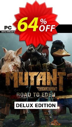 63 Off Mutant Year Zero Road To Eden Deluxe Edition Pc Coupon Code Nov 2020 Trackedcoupon