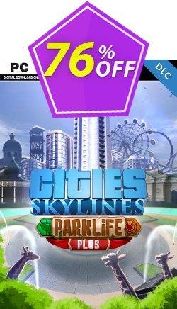 Cities Skylines - Parklife Plus DLC Coupon discount Cities Skylines - Parklife Plus DLC Deal - Cities Skylines - Parklife Plus DLC Exclusive offer for iVoicesoft