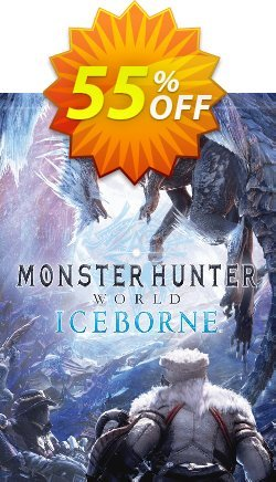 Monster Hunter World: Iceborne PC + DLC Coupon, discount Monster Hunter World: Iceborne PC + DLC Deal. Promotion: Monster Hunter World: Iceborne PC + DLC Exclusive offer for iVoicesoft