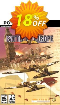Battle Of Europe PC Coupon, discount Battle Of Europe PC Deal. Promotion: Battle Of Europe PC Exclusive offer for iVoicesoft