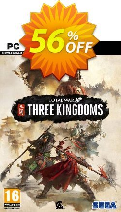 Total War: Three Kingdoms PC - US  Coupon discount Total War: Three Kingdoms PC (US) Deal. Promotion: Total War: Three Kingdoms PC (US) Exclusive offer for iVoicesoft