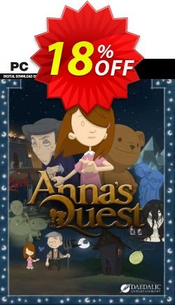 Anna's Quest PC Coupon discount Anna's Quest PC Deal. Promotion: Anna's Quest PC Exclusive offer for iVoicesoft