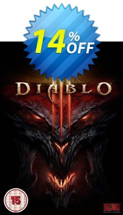 Diablo III 3 - PC/Mac  Coupon, discount Diablo III 3 (PC/Mac) Deal. Promotion: Diablo III 3 (PC/Mac) Exclusive offer for iVoicesoft